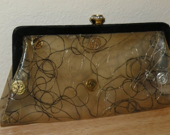 1950s Clutch Purse with a Mid Century Look