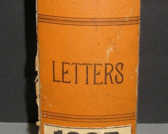 Antique (1907) Letter Correspondence File