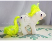 Vintage G1 MLP My Little Pony Baby Ponies Baby Surprise Pegasus