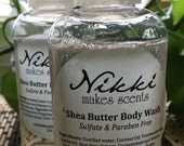 Shea Butter Body Wash Sample - FRUIT/VEGETABLE scents (part 2)