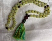 Serpentine Mala Prayer Beads