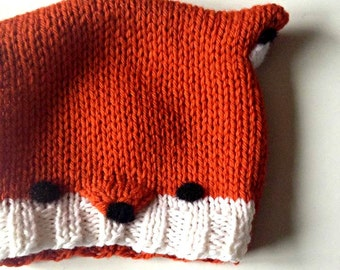 Wool Baby Fox Hat