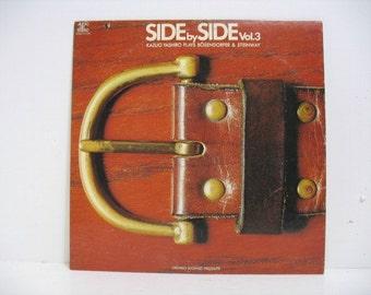 Vintage Kazuo Yashiro Side by Side Vol. 3  Lp Record Album Audio Lab Classical Jazz Japan