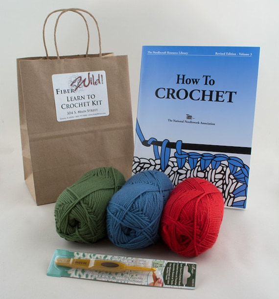I Can Learn to Crochet Kit