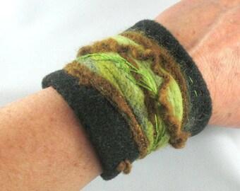 Felted Wrist Cuff