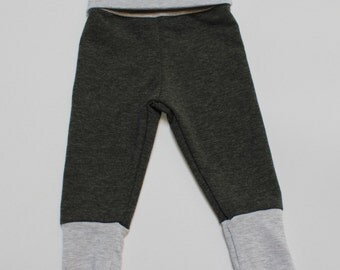 Charcol Grey / Heather Grey Skinny Sweats