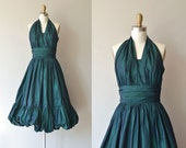 Pas de Basque dress | vintage 1950s dress | Emma Domb 50s party dress