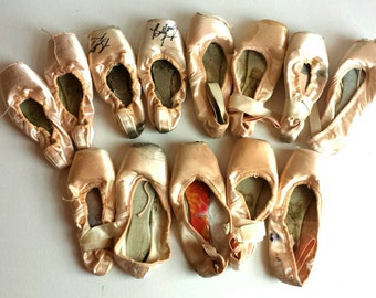 13 Pointe Shoes for Altered Art or Crafting