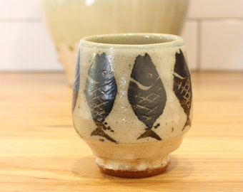 Soda Fired Fish Cup