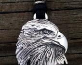 Eagle / Raptor Pewter Pendant