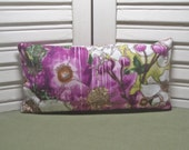 Lavender sachet, extra large size, works nicely as an eye pillow, yoga, made from a 100% cotton fabric, filled with dried lavender only