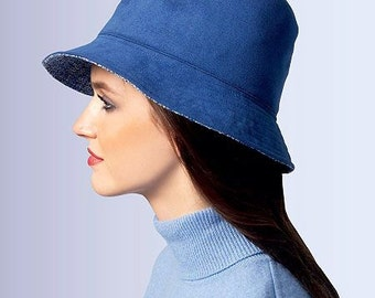 Vogue Patterns V8844 - Misses Hat Sewing Pattern - Out of Print - Uncut, FF