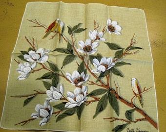 Vintage Linen Ceil Chapman Hankie