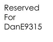 Reserved for DanE9315