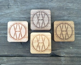 Real Wood Hang Tags - Custom Shapes & Sizes - Various Quantities - Laser-Cut + Laser-Etched - Available in Birch, Cherry, Bamboo + More!