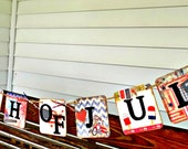 4th of July Banner-Reversible Banner-Fourth of July-Patriotic Decor-Patriotic Banner-July 4th Banner-July 4th Sign -July 4th Photo Prop