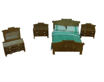 Clearance - 144th Inch Scale Colonial Bedroom Furniture Kit