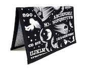 Knitting Crochet Pattern Holder - miPattern Wallet Chart Keeper - Wicked Ouija
