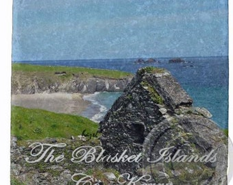 The Blasket Islands, Co Kerry, Beach, Irish / Ireland Coasters.