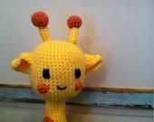 stuffed toy amigurumi Giraffe