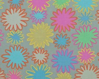 COUPON Code Sale - Kaffe Fassett, Uzbekistan, Grey, Rowan Westminster Fabrics, 100% Cotton Quilt Fabric, Quilting Fabric, SELECT A SIZE