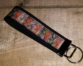 Camouflage Browning  Key Fob Wristlet