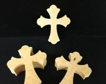 New Style! 150 Unpainted 6'' x 9'' C12 Crosses! Great for VBS AND Free Shipping!