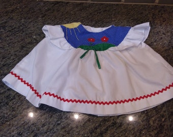 Vintage baby dress 18 mos