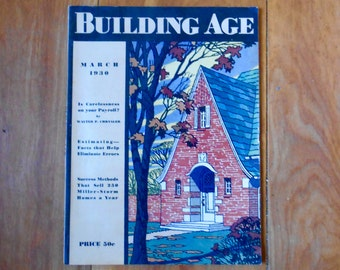 Building Age Magazine - Building Age Trade Journal- March 1930