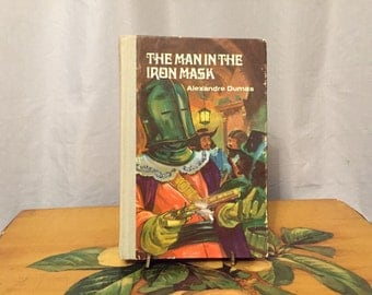 The Man in the Iron Mask Vintage Hardcover Book Alexander Dumas