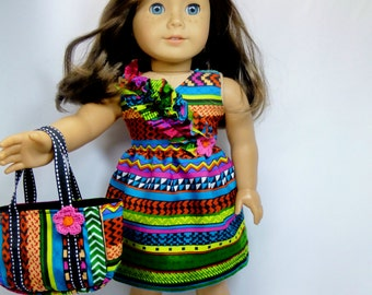 Summer Dress for American Girl