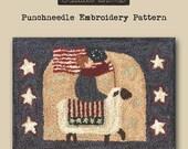 Punchneedle | Pattern | Needlwork | DIY | Crafts | This Land | PN057