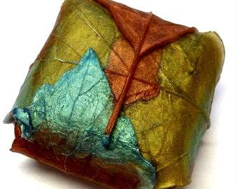 Folded Leaves Soap - Leaf - Fall Soap - Guest Soap - Bathroom Soap