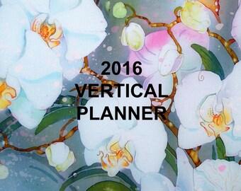 2016 VERTICAL PLANNER ORGANIZER