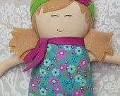 Dolls, Handmade Doll,  Rag Doll, Soft Doll, Baby Doll, Fall, Free Shipping In The U.S.