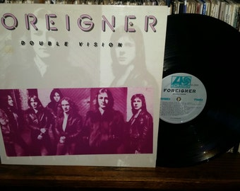 Foreigner Double Vision Vintage Vinyl Record