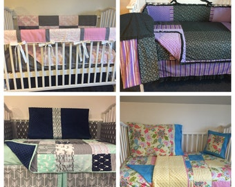 YOU DESIGN Boutique Crib Nursery Toddler Bedding Set