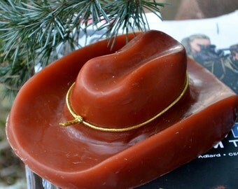 Walking Dead Soap - Carl's Hat - Large Sheriff's Hat Soap - Novelty Soap - Carl Grimes - Novelty Soap - Cowboy