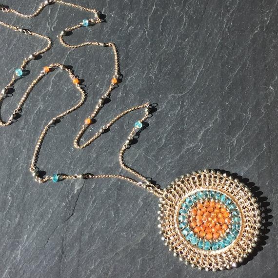 Hyacinth Necklace
