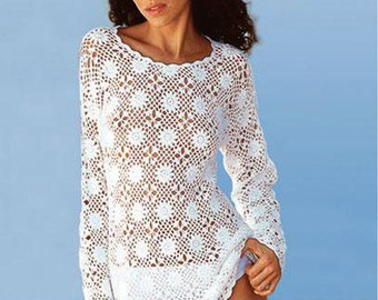 Crochet  TUNIC PDF Pattern