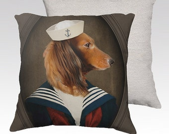 dachshund pillow | etsy