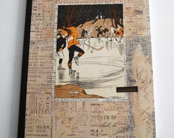 Notebook, Ice Hockey, Journal