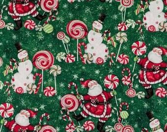 Santa, Snowman, Candy - Handbag, Purse, Tote, Shoulder Bag, Outside Pockets