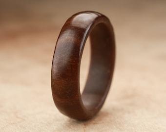 Size 10.25 - Guayacan Wood Ring No. 325