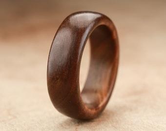 Size 7.25 - Guayacan Wood Ring No. 326