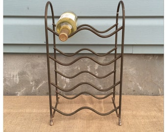 Wine Rack -Wine Bottle Holder - Wine Home Decor - Metal Wine Rack - Rustic Decor - CHIC