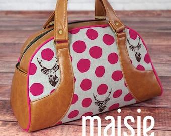 1ed2ea9b4dfb Swoon Vivian Handbag and Traveler Tote Sewing Pattern from ...