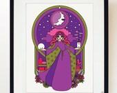 Moon Magic print poster