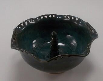 Tourmaline (Teal) Jewelry Bowl