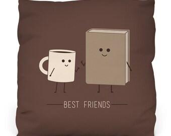 Best friends Pillow W/ Insert